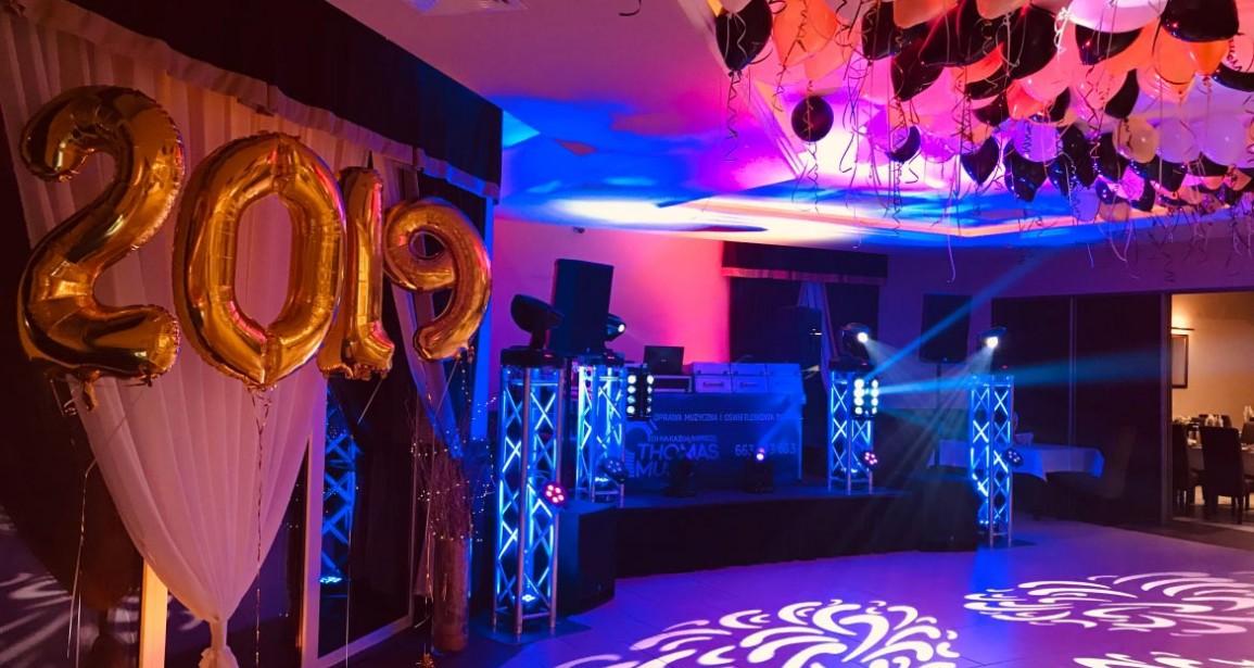 DJ Na Sylwestra Hotel Amber Cieśle 31.12.2018