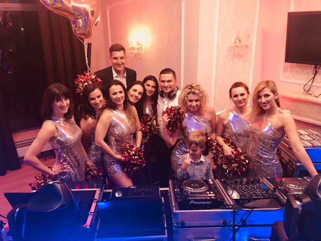 Cheerleaders Wrocław, dj sprzęt, profesjonalny dj na urodziny, dj, wodzirej