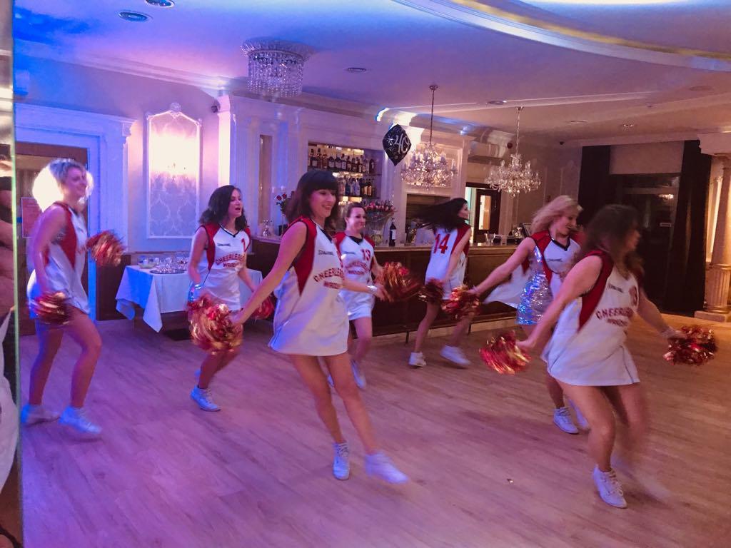 Cheerleaders Wrocław, dj, wodzirej, dj na urodziny, wodzirej na urodziny